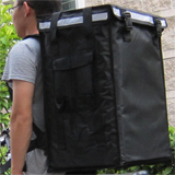 PK-86V: Insulate food carrier, pizza delivery backpack with big capacity, 16