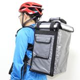 PK-33AG: Beverage delivery backpack, hamburger delivery carriers, keep hot, Top Loading,  13